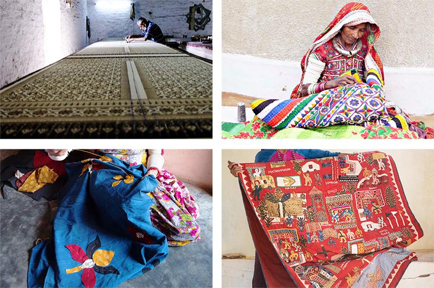 インド最西 グジャラート州・カッチ地方 インドの刺繍や手織物に出会う旅