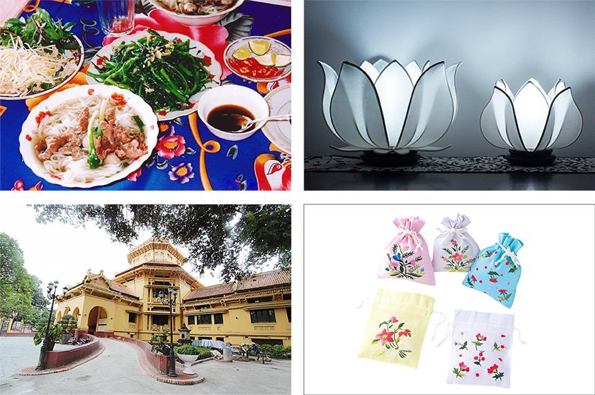 ベトナム ハノイ 伝統工芸 手刺繍見学ツアー